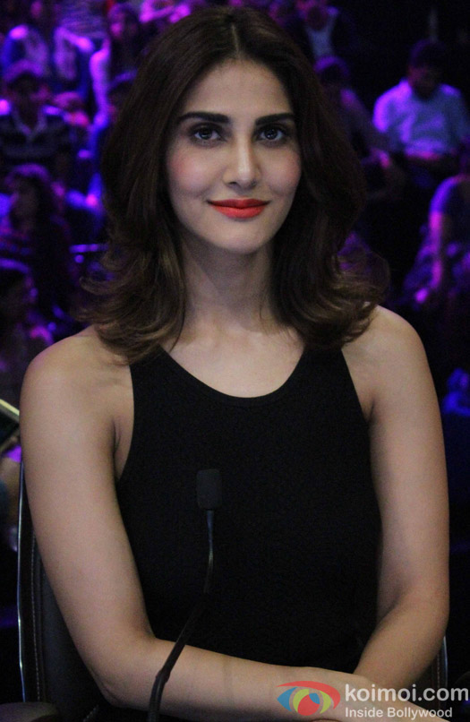 Vaani Kapoor during the Promotion of film Befikre on the sets of Super Dancer