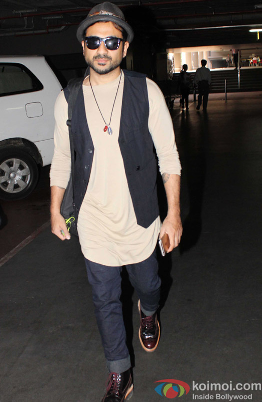 Vir Das spotted at Airport