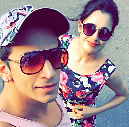 Yuvika Chaudhary watches Prince Narula getting married