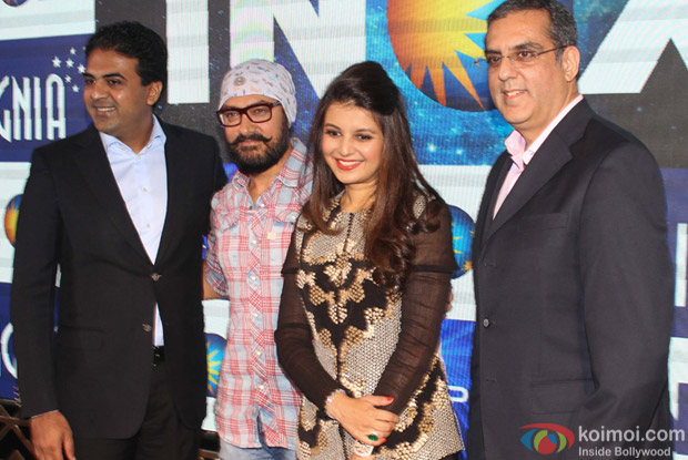 Aamir Khan launches Laserplex- Insignia