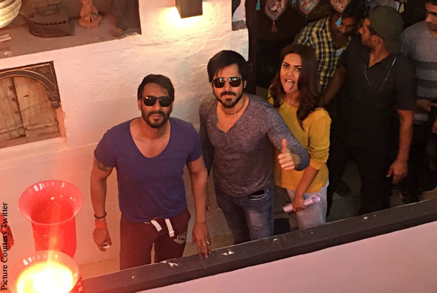 Baadshaho Team Wraps Up 1st Day Schedule In Rajasthan