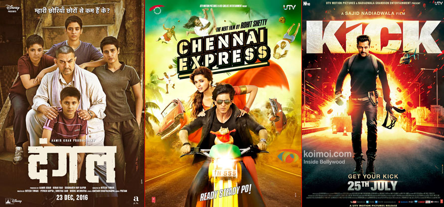 Box Office - Aamir's Dangal has a huge second Friday, to challenge lifetime of SRK's Chennai Express and Salman's Kick today