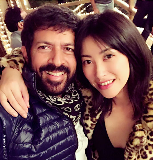 Chinese Actress Zhu Zhu Wraps Up Tubelight Shoot