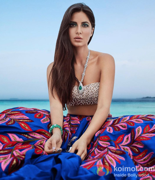 Katrina Kaif graces the double issue of Harper's BAZAAR BRIDE