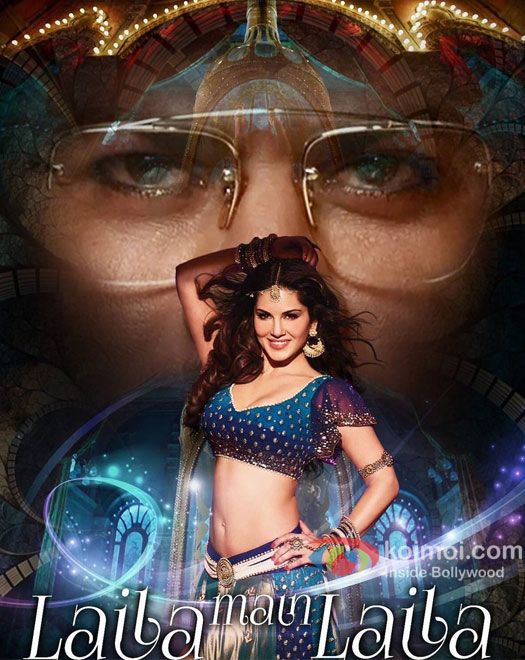 Laila Main Laila Song Poster | Check Out Sunny's Sizzling Avatar