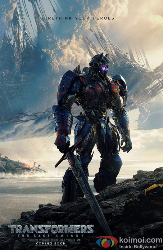 "New posters from Transformers ""The Last Knight"" out now!"