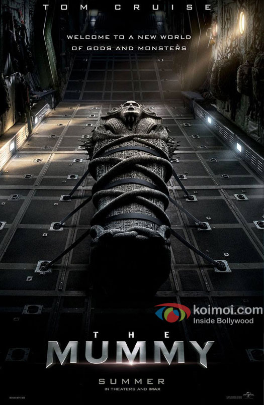 Tom Cruise starrer The Mummy poster