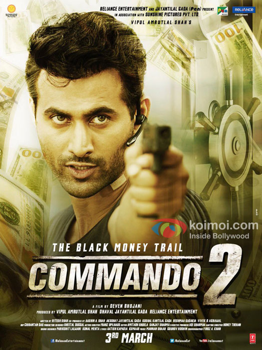 Check Character Poster Of Freddy Daruwala From Commando 2