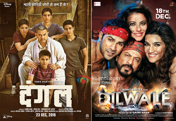Dangal Beats Dilwale To Become The 4th Highest Overseas Grosser