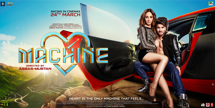 First Look and New Poster of Machine