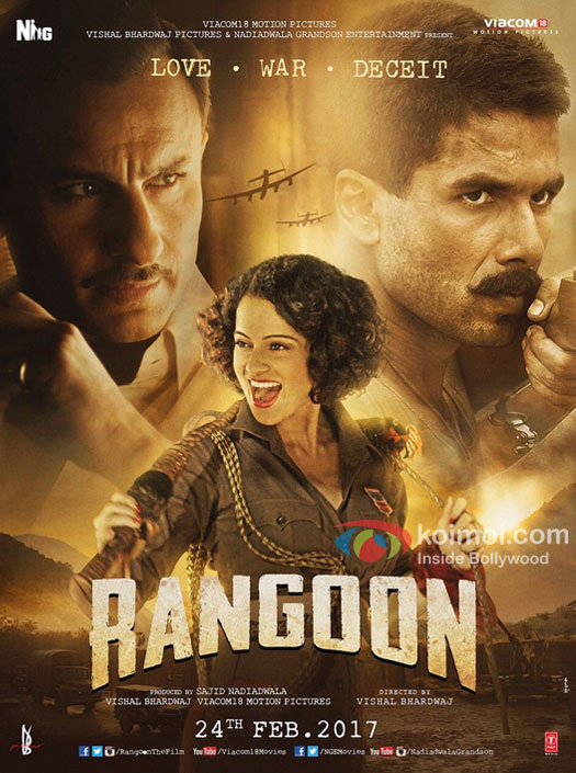 Rangoon 2017 Movie Free Download 720p BluRay