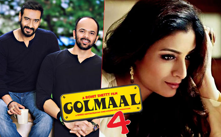 Tabu To Star In Ajay Devgn-Parineeti Chopra Starrer Golmaal 4