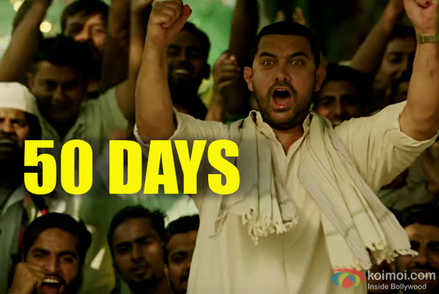 Aamir's Dangal Completes 50 Days At The Box Office