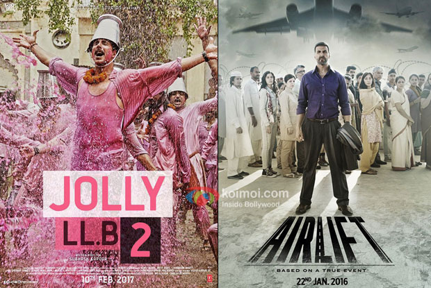 Box Office - Akshay Kumar's Jolly LLB 2 opens better than his Airlift