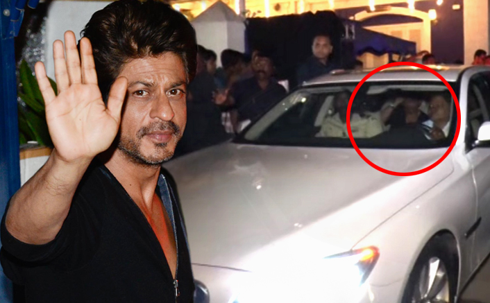 Fans Cheer For Raees After Spotting SRK At A Film Shoot In Bandra