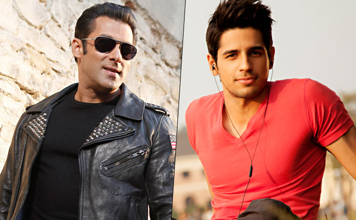 Is Siddharth Malhotra teaming up with Salman Khan in Race 3?