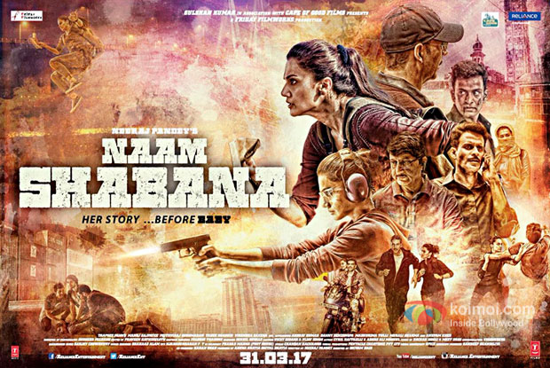 Watch The Trailer Of Taapsee And Akshay Starrer Naam Shabana