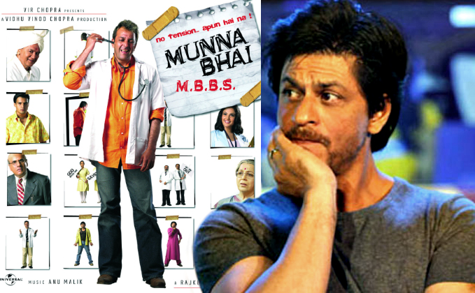 Couldn't have done 'Munnabhai MBBS' as well as Sanjay: SRK