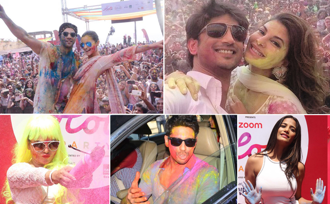 Holi bash 2017 with Alia, Varun, Sidharth joining the celebrations