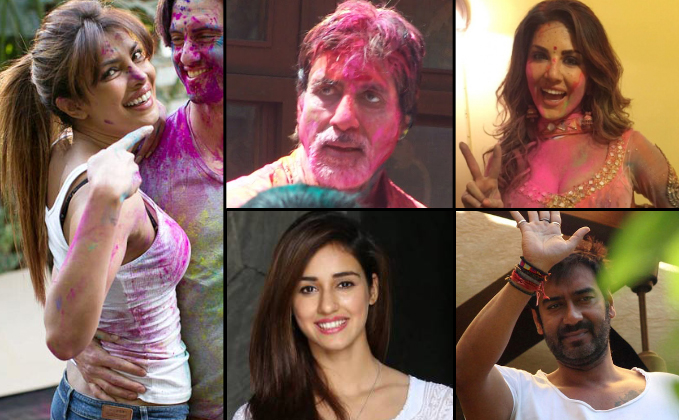 On Holi, B-Town sends out colourful wishes to fans