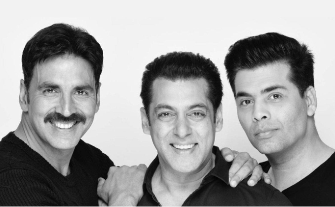 Salman Khan rubbishes rumours of backing out from Karan Johar, Akshay Kumar film in the most filmy manner
