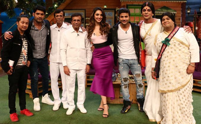 The Kapil Sharma Show with Abbas Mustan and Machine cast
