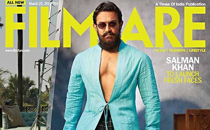 Aamir Khan In A Never Seen Before Avatar On Filmfare Cover