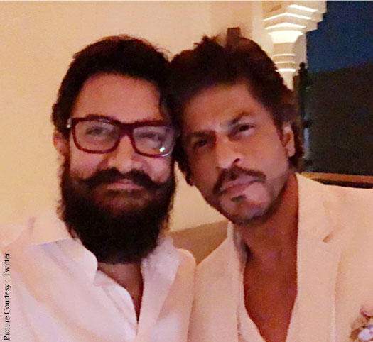 Aamir-SRK To Come Together For A New Star Plus Ad?