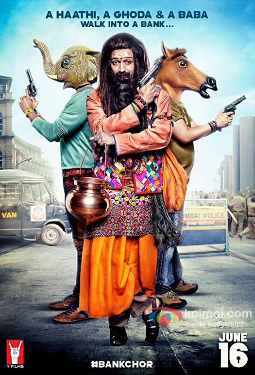 Image result for movie poster of Bank Chor