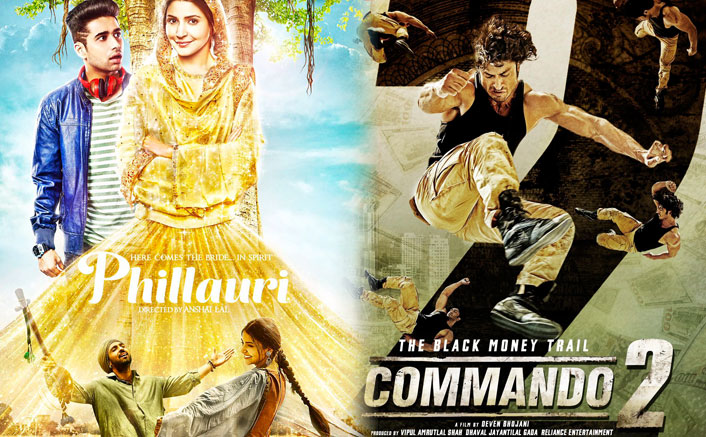 Box Office - Phillauri collects similar to Commando 2 in Week One