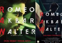Check Out The First Look Posters Of Sushant Singh Rajput Starrer Romeo Akbar Walter