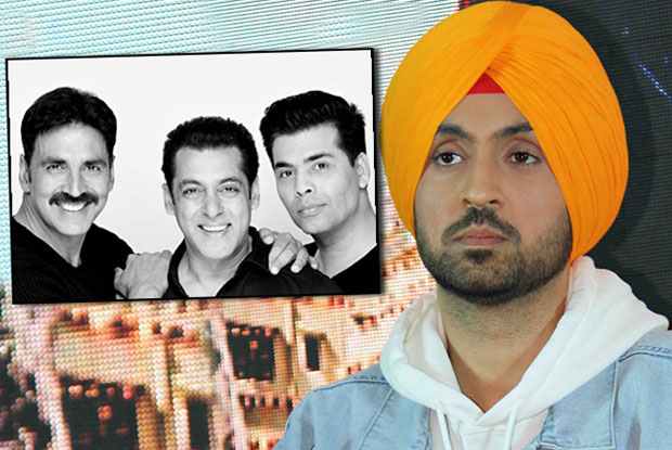 Diljit Dosanjh Will Not Share Screen With Akshay In Salman & Karan's Production Venture