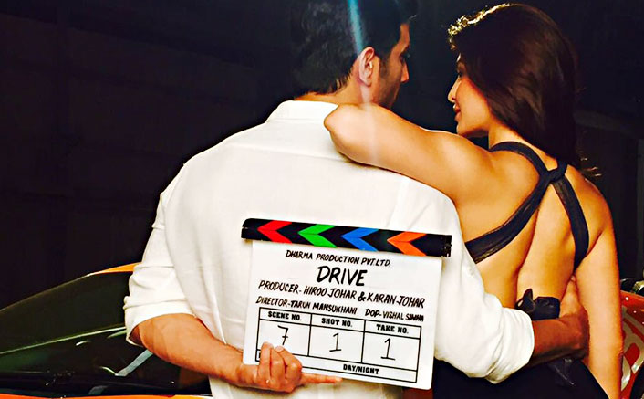 Sushant Singh Rajput and Jacqueline Fernandez start shoot for Drive