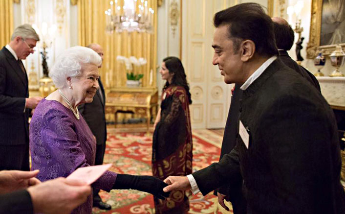 Kamal Hassan's Meeting With The Queen Of England