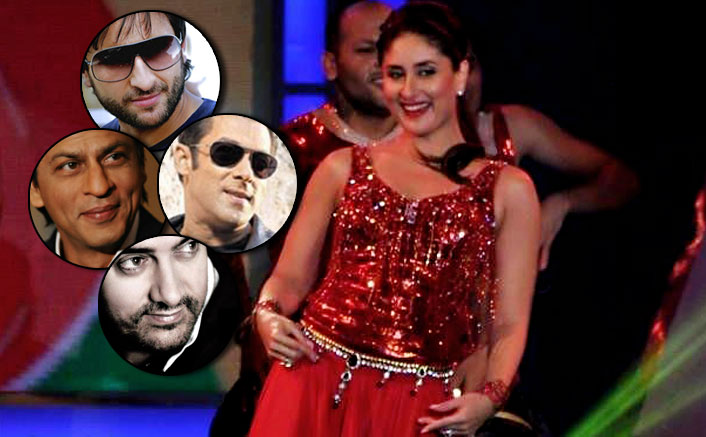 "Kareena Kapoor Khan adds another ""first"" to her credit - pays tribute to the Khans in a stage performance !"