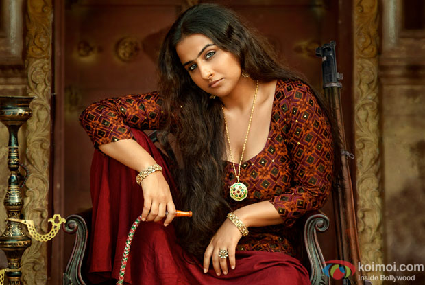 Vidy Balan In a still from Begum Jaan
