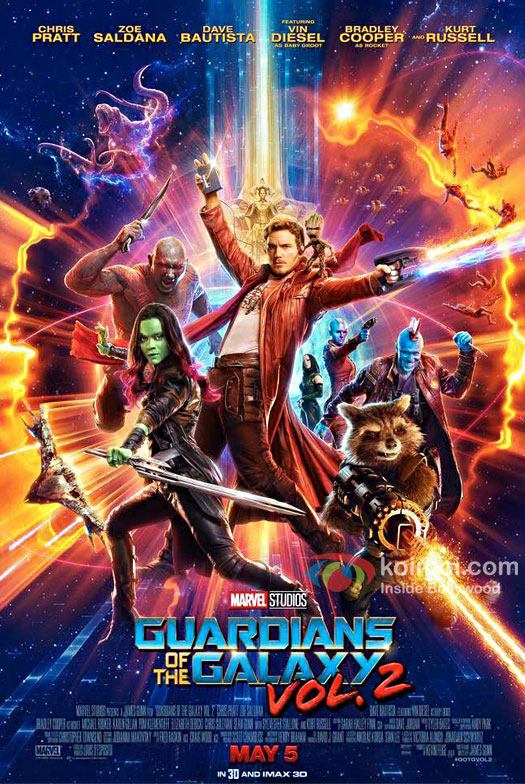 Guardians Of The Galaxy Vol. 2 Trailer Out Now