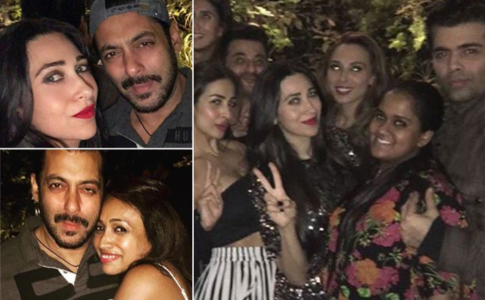 salman Khan, Sonakshi, Karisma, Iulia and many more Celebs at Seema Khan's Birthday party