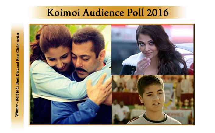 Salman-Anushka Win Best Jodi, Aishwarya Bags Best Diva At Koimoi Audience Poll 2016