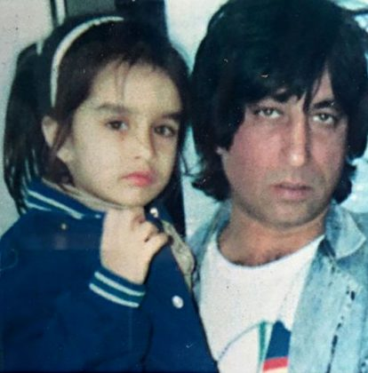 Shraddha And Shakti Kapoor