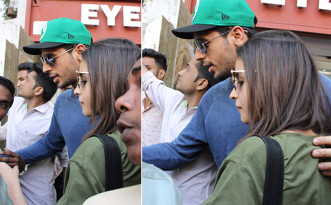 Sidharth-Alia snapped on a lunch date! What's cooking?