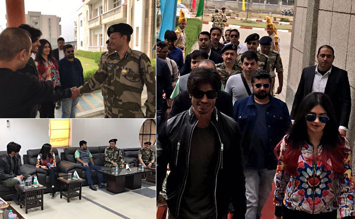 Commando 2 Stars Vidyut Jammwal And Adah Sharma Meet CISF Officials In Delhi
