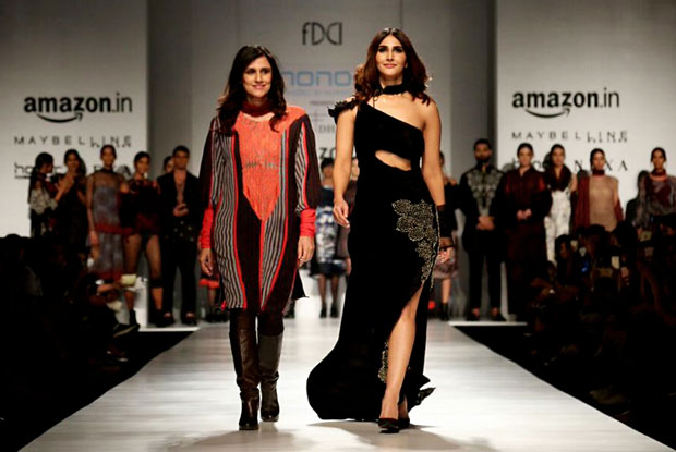 Vaani Kapoor turns showstopper for Rina Dhaka's Dark Romanticism