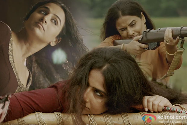 How Vidya Balan transformed herself to fierce 'Begum Jaan'