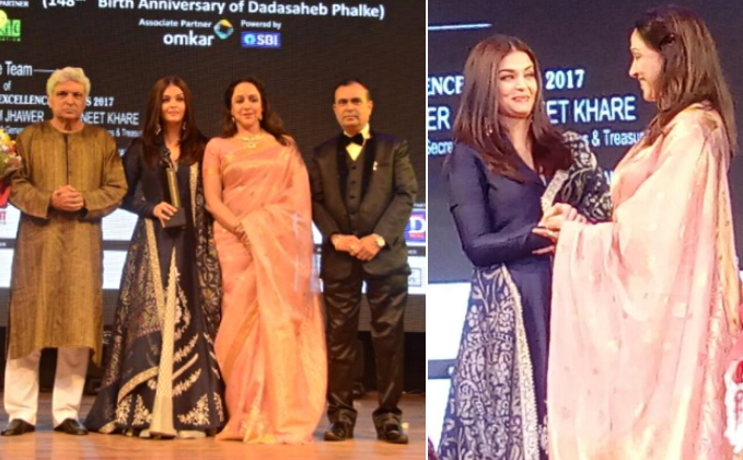 Aishwarya Rai Bachchan honoured with the most prestigious Dadasaheb Phalke award for Sarbjit