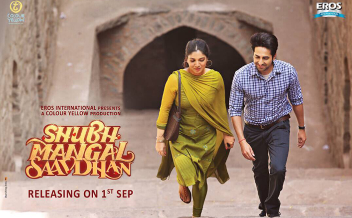 Image result for Bhumi And Ayushmann starrer film 'Shubh Mangal Saavdhan' latest track 'Kanha' released
