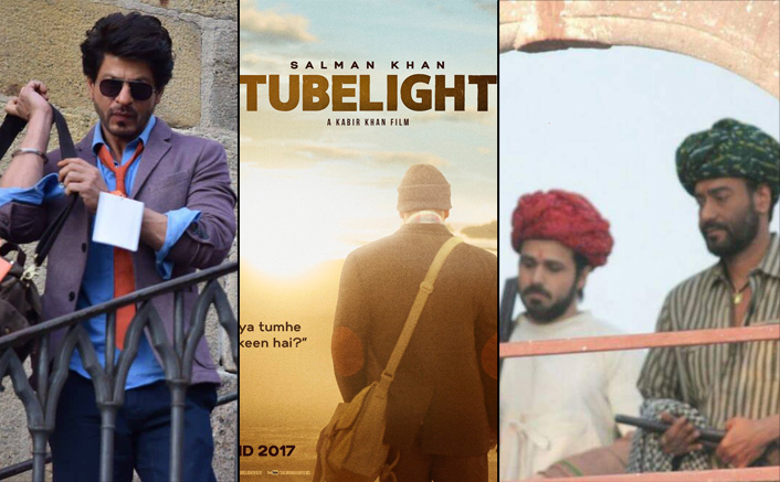 Baadshaho & Shah Rukh's Untitled Films Trailer To Be Attached With Salman's Tubelight