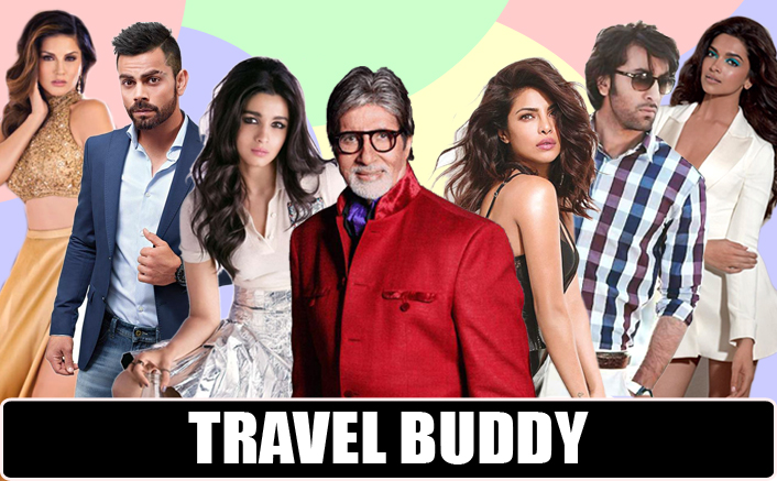 Find Out Which Celebs Indians Love To Travel With!
