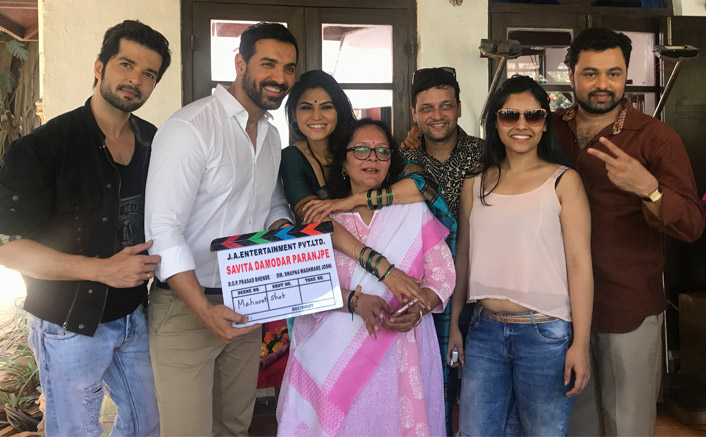 John Abraham's production house starts work on first Marathi film 'Savita Damodar Paranjpe'!
