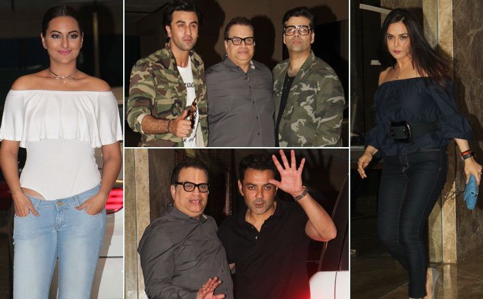 Karan Johar, Ranbir Kapoor, Sonakshi Sinha & Others Spotted at Ramesh Torani Party